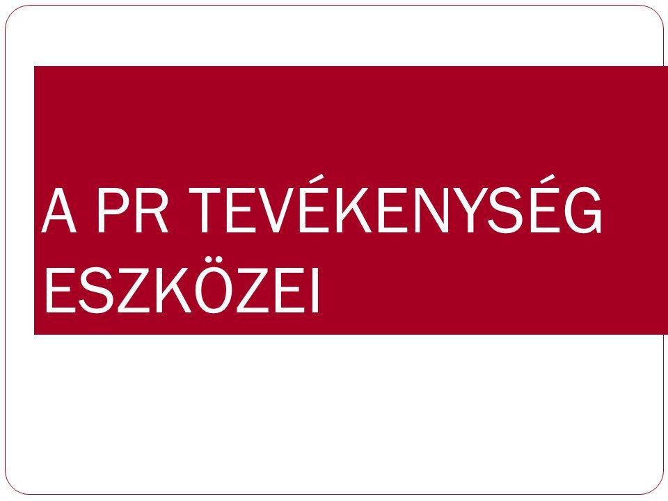 Sajtótalálkozók Formái Sajtótájékoztató http://sajttaj.hu/ Sajtóreggeli,-ebéd,-vacsora Sajtó-háttérbeszélgetés