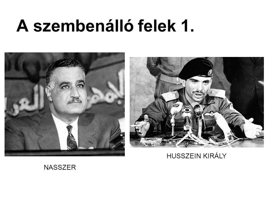 A szembenálló felek 2. ABDEL RAHMAN ARIF HAFEZ ASSZAD LEVI ESKOL