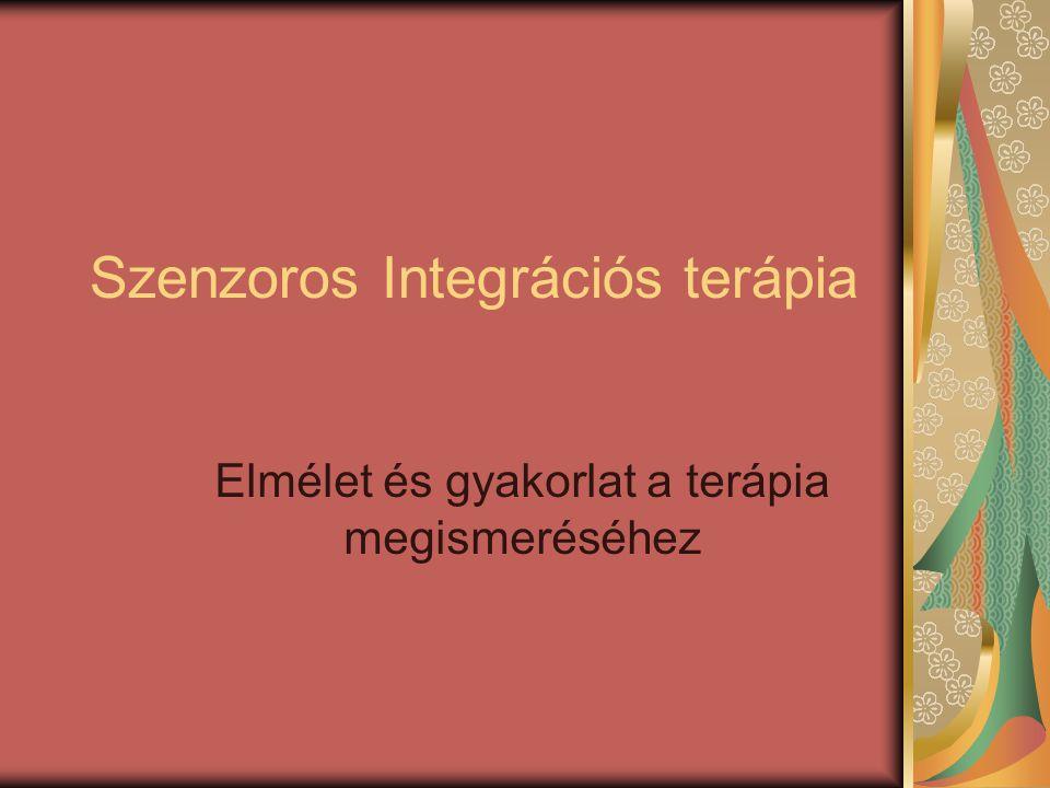 Szenzoros Integrációs terápia Elmélet és gyakorlat a terápia megismeréséhez
