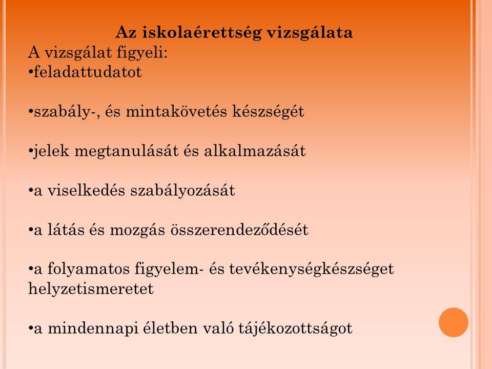 Néhány példa különböző sorozatokból: Széldísz Babaöltöztetés Postajáték Tájékozottság
