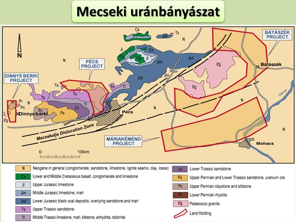 Mecseki uránbányászat