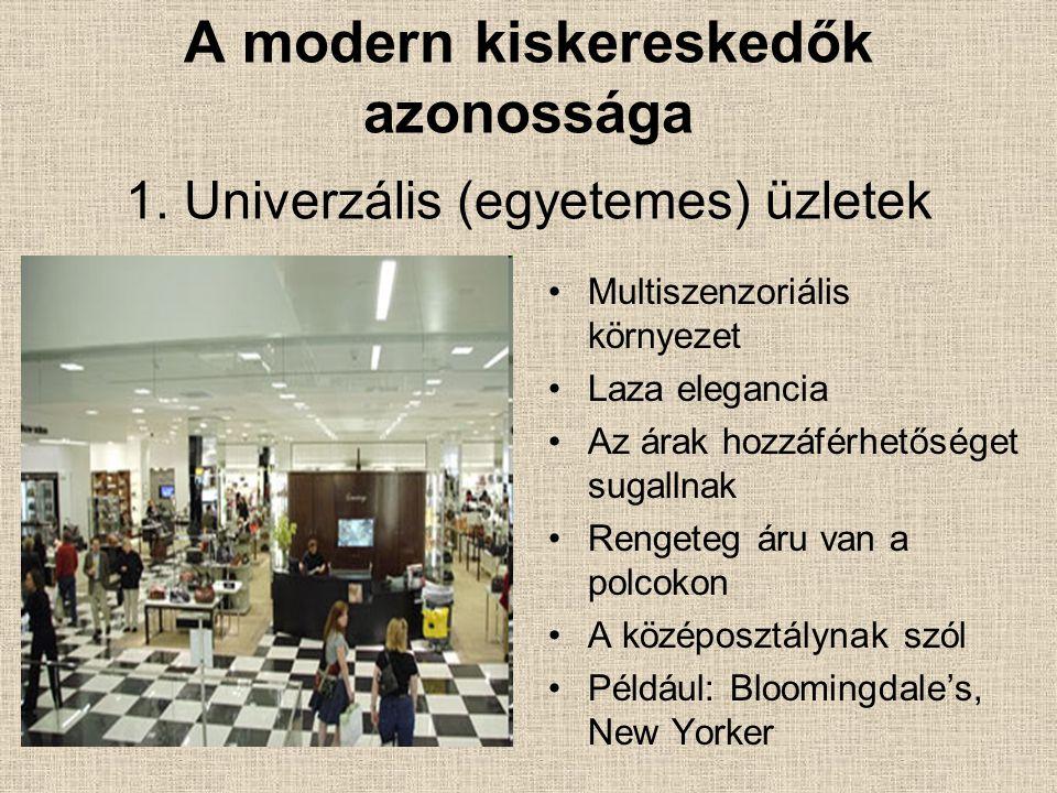 A modern kiskereskedők azonossága 1.