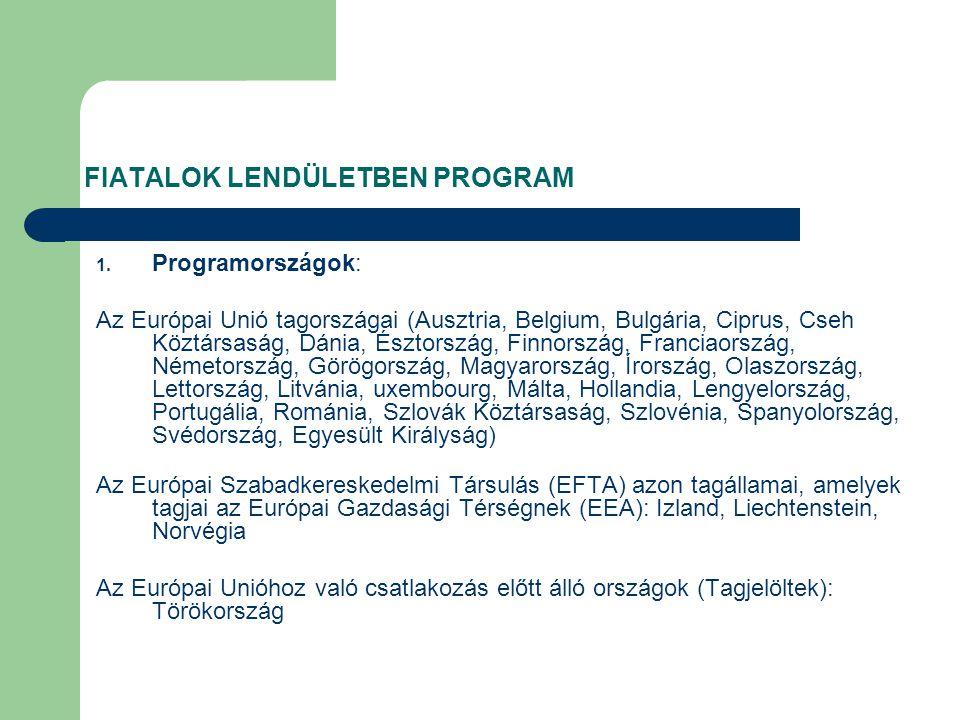 FIATALOK LENDÜLETBEN PROGRAM 1.