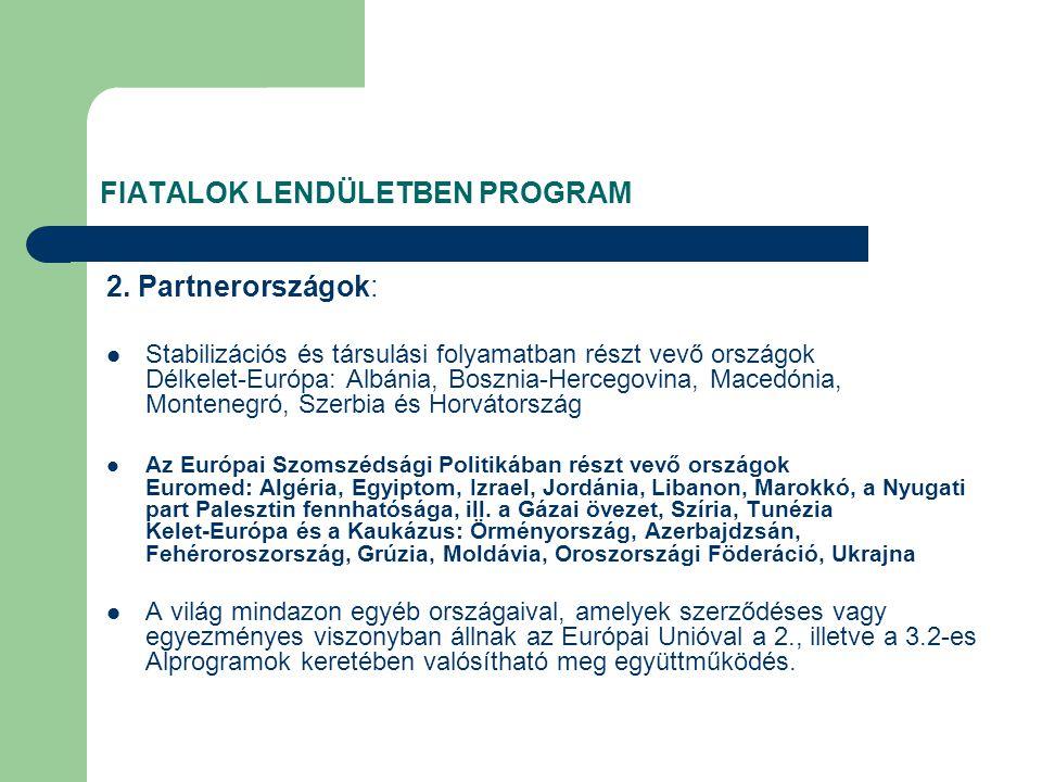 FIATALOK LENDÜLETBEN PROGRAM 2.