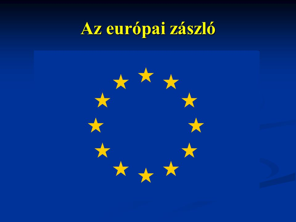 Az európai zászló