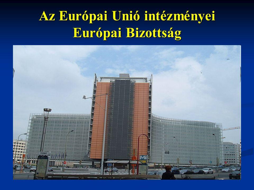 Az Európai Unió intézményei Európai Bizottság