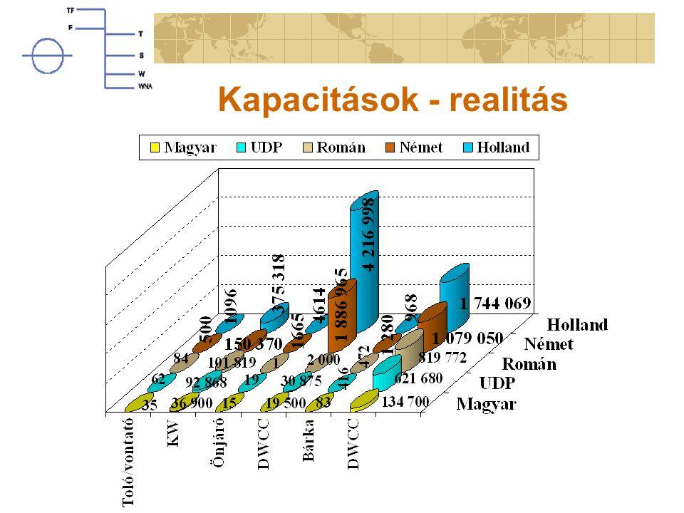 Kapacitások - realitás