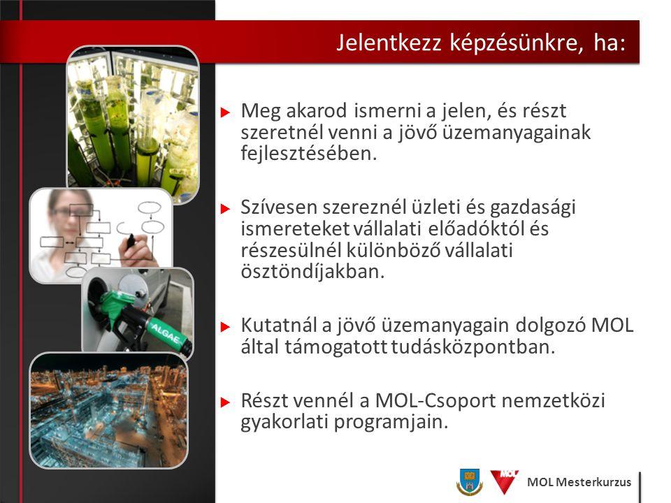 MOL Mesterkurzus  Diplomád belépőkártya lehet a MOL Csoport nemzetközi csapatához  PhD képzés lehetősége Magyarországon és külföldön A Legjobbak között Mosonyi György Vezérigazgató, MOL Nyrt.