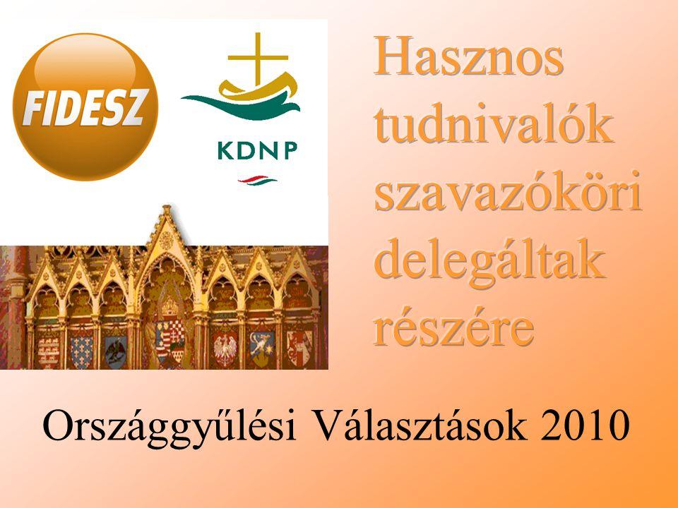 Országgyűlési Választások 2010