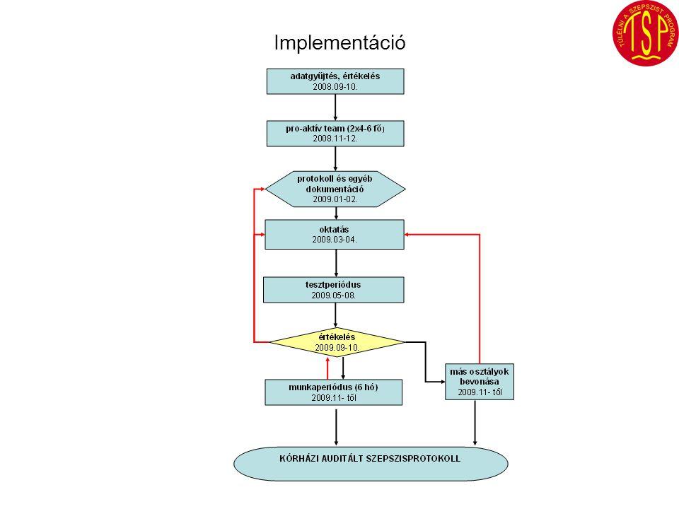 Értékelés 2009.szeptember Implementáció