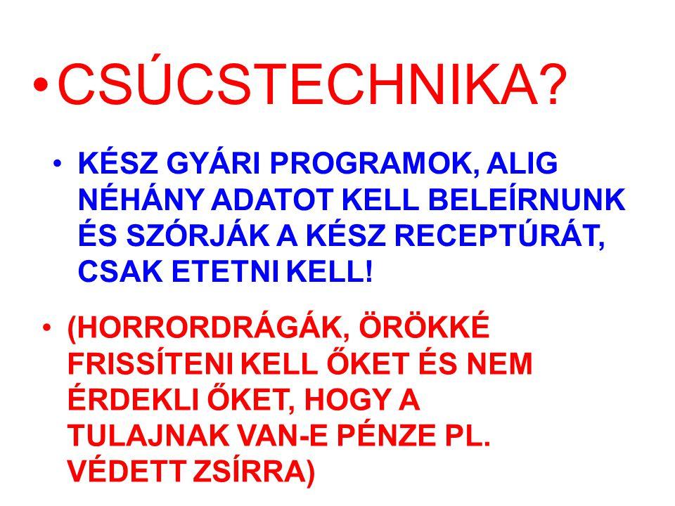 CSÚCSTECHNIKA.