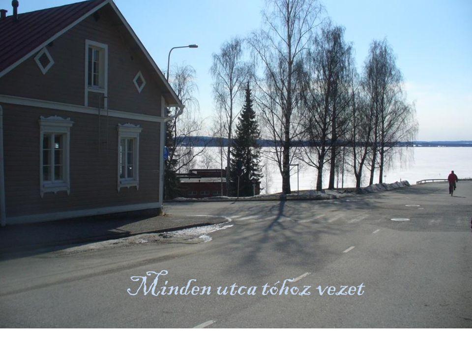 Minden utca tóhoz vezet