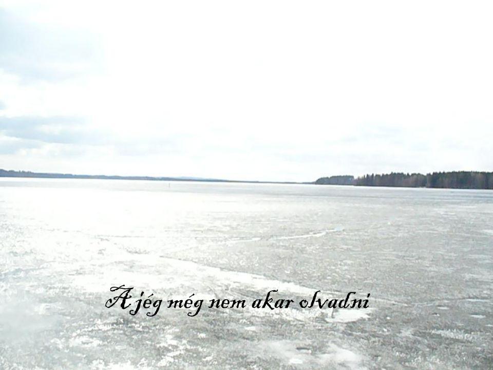 A jég még nem akar olvadni