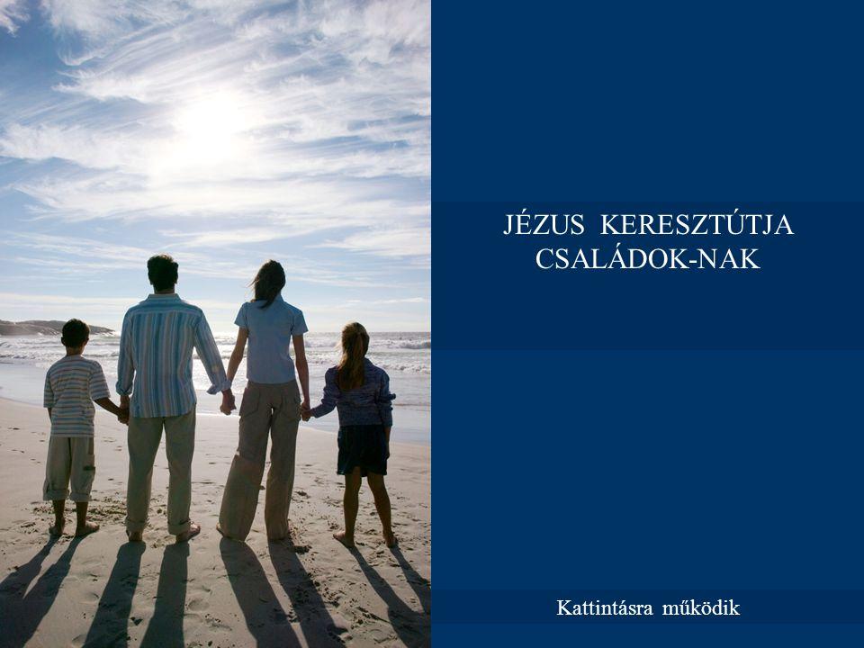 JÉZUS KERESZTÚTJA CSALÁDOK-NAK Kattintásra működik