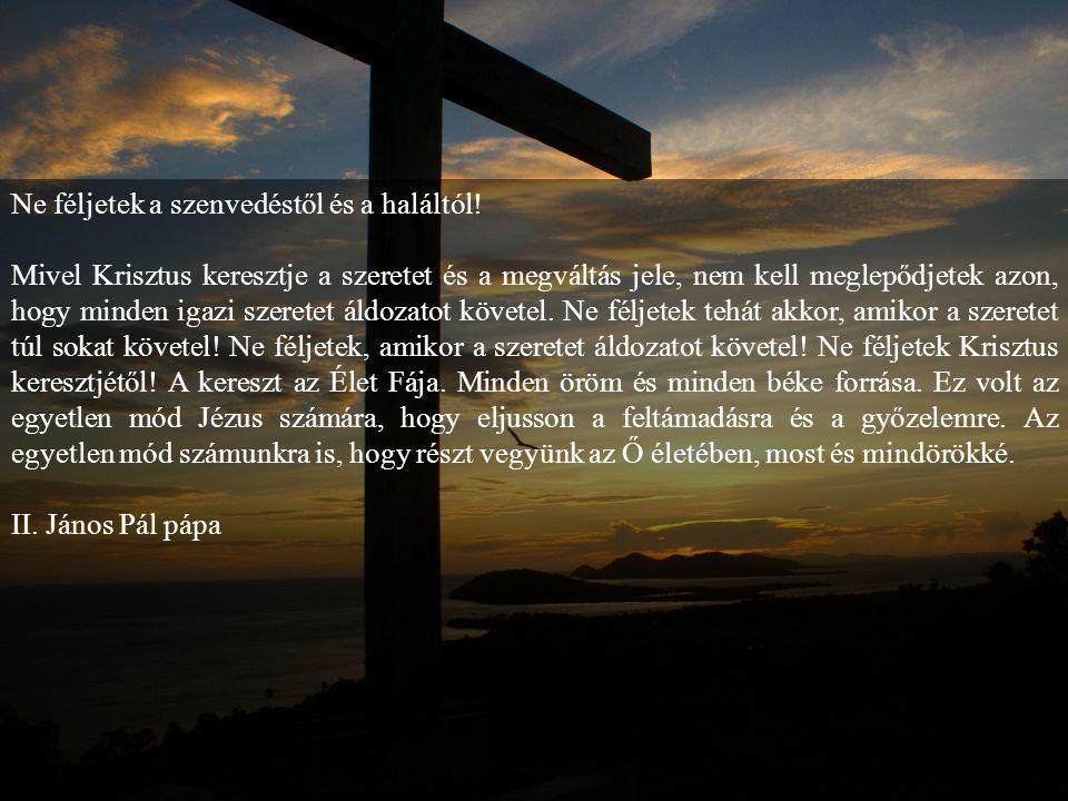 14.állomás: Jé-zust sírba he- lyezik Jézust gyolcsba takarták és sziklafalba vájt sírba fektették. A katonák a sír bejárata elé követ gördí- tettek, m