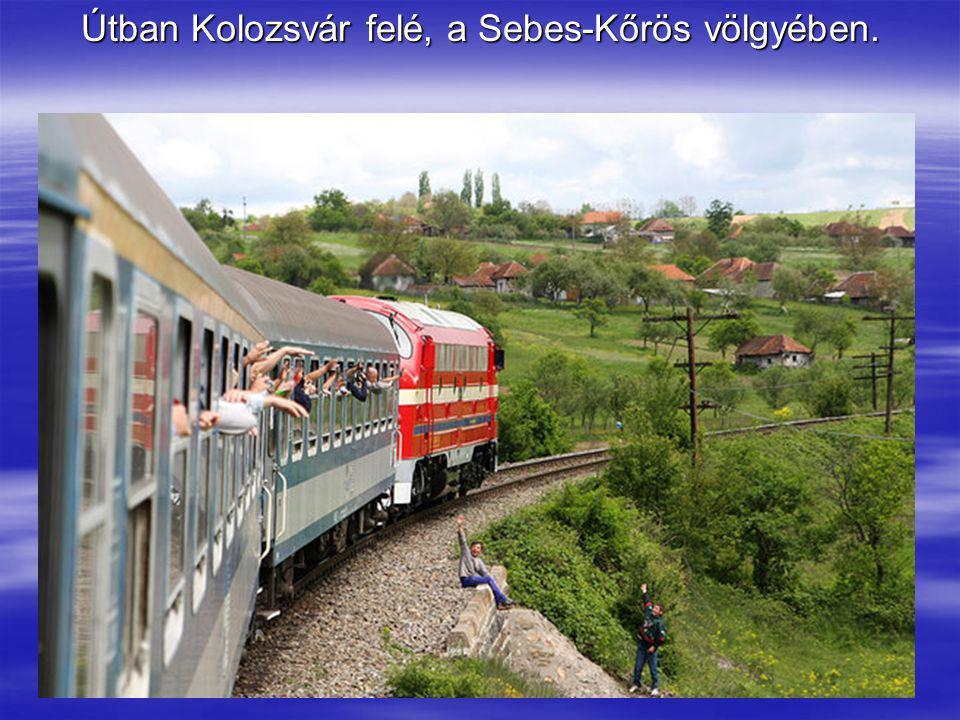 Útban Kolozsvár felé, a Sebes-Kőrös völgyében.