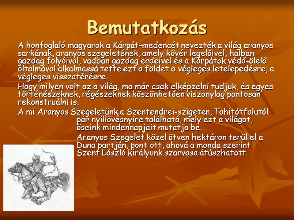 Ezen az 50 hektáros területen egyedülálló gazdasággal tárulnak elénk őseink hétköznapjai, életkörülményei, láthatóak a honfoglalás kori magyarok őshonos állatai is és felsejlik az a kemény világ is, amelyben feldübörgött a csodás magyar lovas sereg, és megfeszült az Európa által is rettegett magyar íj.