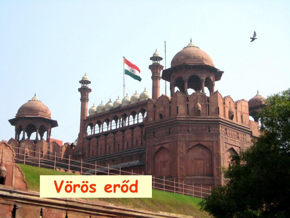 "New-Delhi ""Jama Masjid"" India legnagyobb mecsete."