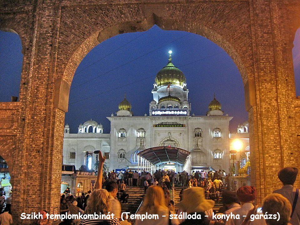India kapuja. Az elesett indiai katonák emlékműve.