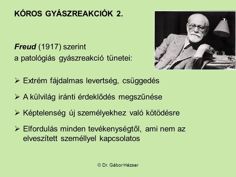 KÓROS GYÁSZREAKCIÓK 2.