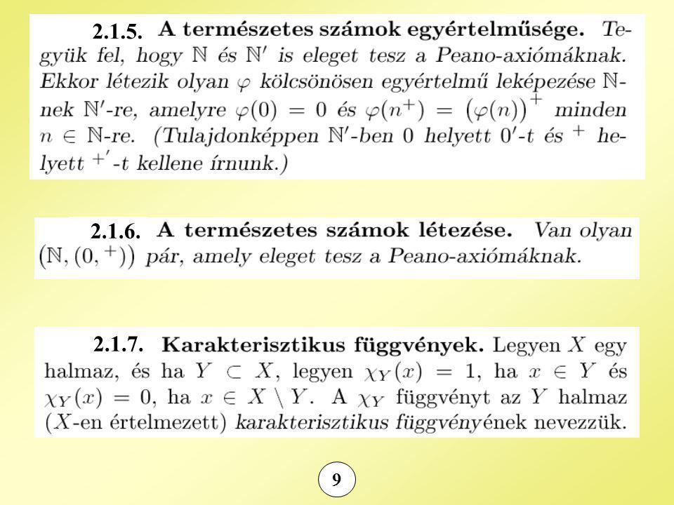 20 Észrevétel: (C, +) Abel-csoport : egységelem: (0,0) (a, b) additív inverze: –(a, b) = (–a, –b) (C *,  ) Abel-csoport : egységelem: (1,0) (a, b) multiplikatív inverze: (a, b) –1 = (a / (a 2 + b 2 ), –b / (a 2 + b 2 )) Kétoldali disztributivitás teljesül
