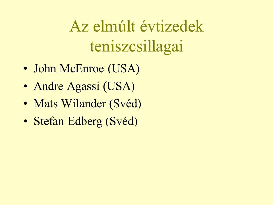 John McEnroe 1978-ban debütált a profik között.1979-ben a US Open legfiatalabb győztese lett.