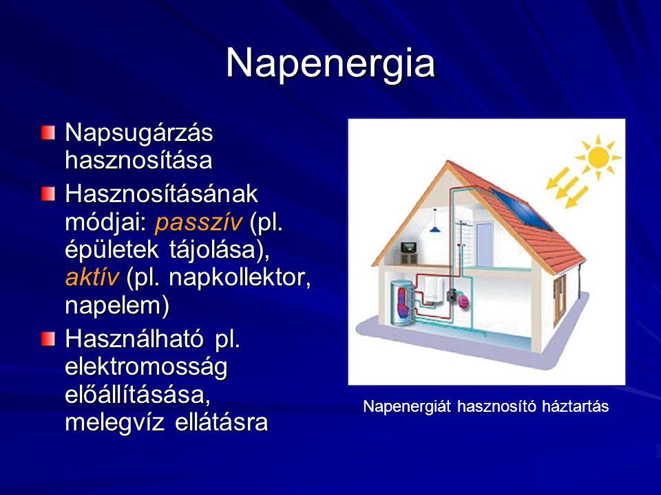 Vízenergia Már az ókorban is használták (pl.