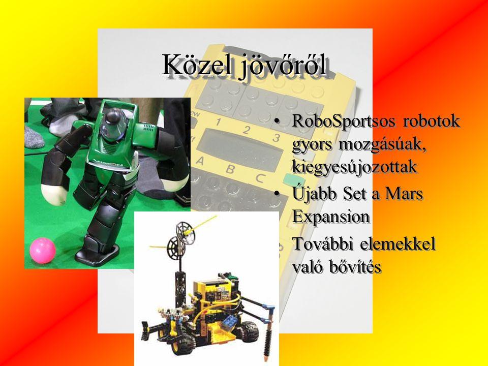 Közel jövőről RoboSportsos robotok gyors mozgásúak, kiegyesújozottak Újabb Set a Mars Expansion További elemekkel való bővítés