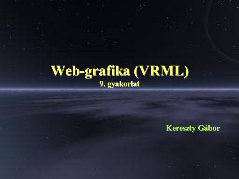 Web-grafika (VRML) 9. gyakorlat Kereszty Gábor