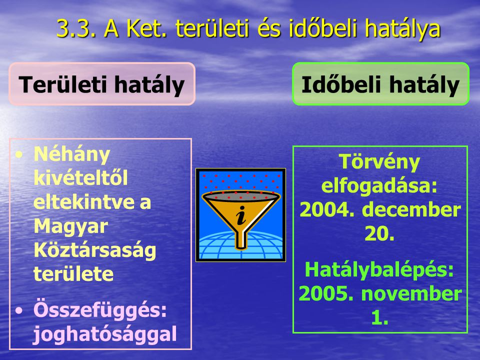 3.2.3. Közigazgatási hatóság Államigazgatási szervek (minisztériumok, országos hatáskörű szervek, területi államigazgatási szervek) Államigazgatási sz