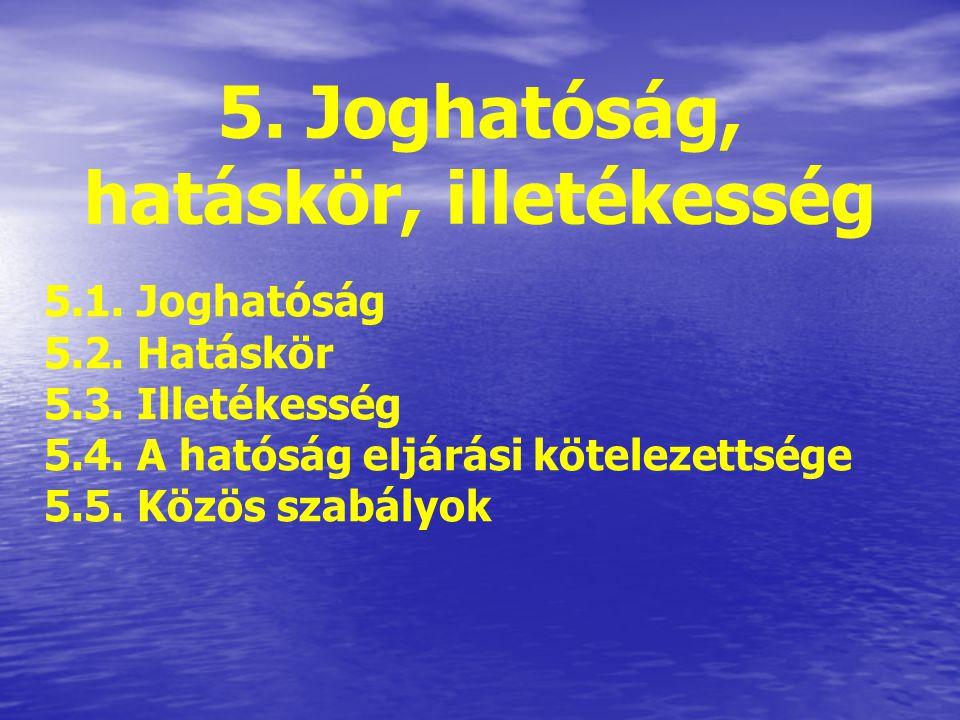 4.1. A közigazgatási eljárási szabályok 2 fő típusuk: ÁltalánosKülönös Kiegészítő jelleg Minden közigazgatási hatósági ügyben a Ket- et kell alkalmazn