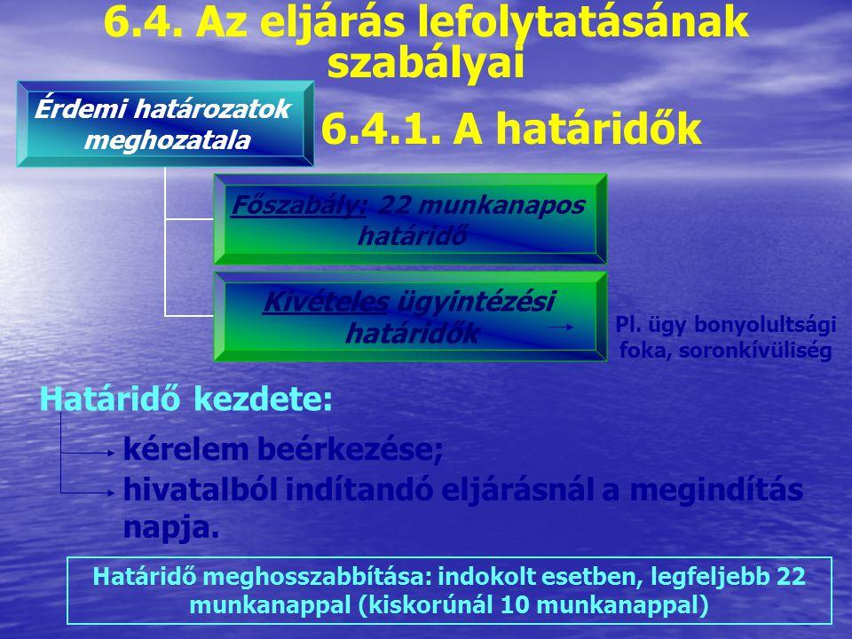 6.3.2. A tényállás tisztázása és a bizonyítási eljárás Tényállás tisztázásának célja: Megalapozott döntés meghozatala Meggyőződni a kérelemben előadot