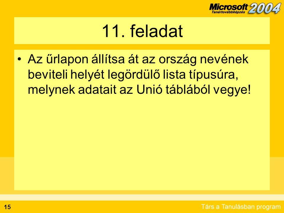 16 További információ Office Online - Access: http://office.microsoft.com/assistance/topcategor y.aspx?TopLevelCat=CH79001800&CTT=6&Ori gin=ES790020011038 http://office.microsoft.com/assistance/topcategor y.aspx?TopLevelCat=CH79001800&CTT=6&Ori gin=ES790020011038 SQL Server Books Online (angol): http://www.microsoft.com/downloads/details.asp x?FamilyID=a6f79cb1-a420-445f-8a4b- bd77a7da194b&DisplayLang=en http://www.microsoft.com/downloads/details.asp x?FamilyID=a6f79cb1-a420-445f-8a4b- bd77a7da194b&DisplayLang=en SQL Server 2005 Express: http://lab.msdn.microsoft.com/express/sql/defaul t.aspx http://lab.msdn.microsoft.com/express/sql/defaul t.aspx
