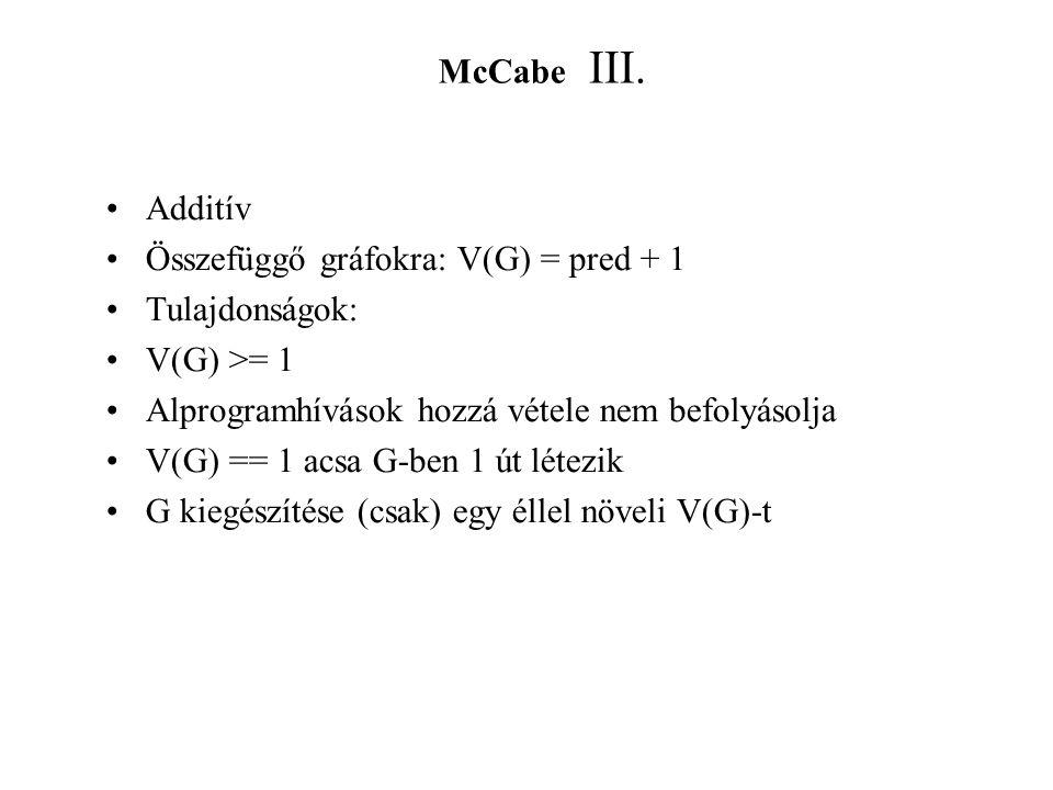 McCabe III.