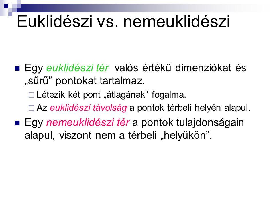 Euklidészi vs.