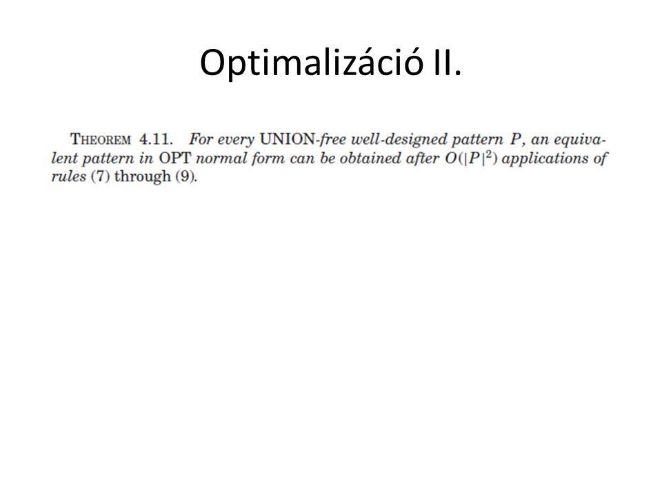Optimalizáció II.