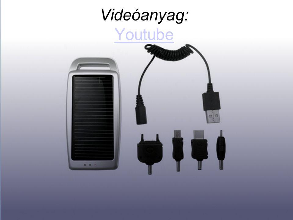 Videóanyag: Youtube Youtube