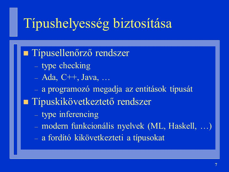 48 Példák type T1 is array ( a .. z ) of Natural; type T2 is array (Character range a ..