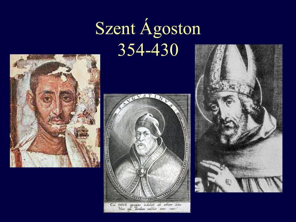 Szent Ágoston 354-430
