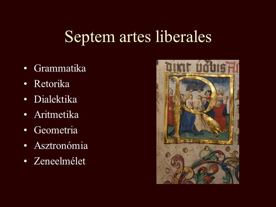Középkori egyetemek