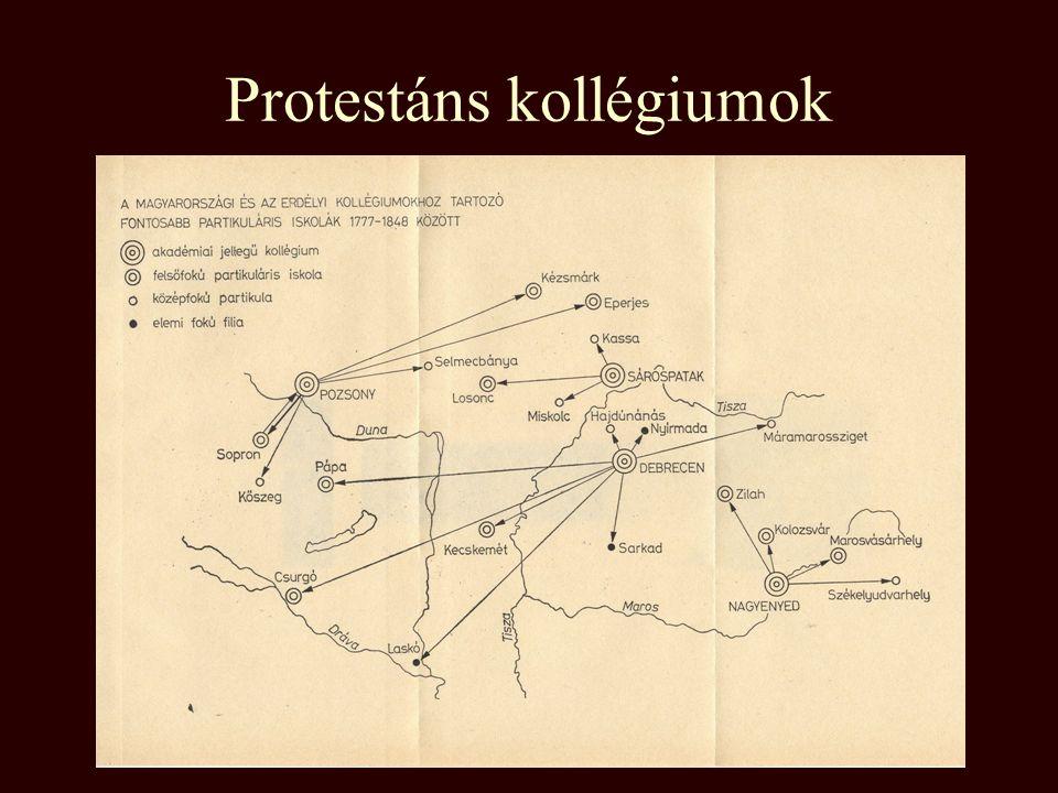 Magyarországi egyetemalapítások 1367 Pécs 1392 Óbuda 1465 Pozsony 1635 Nagyszombat