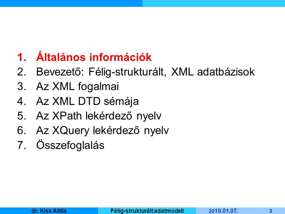 Master Informatique 20 10.01. 07. 24 dr.