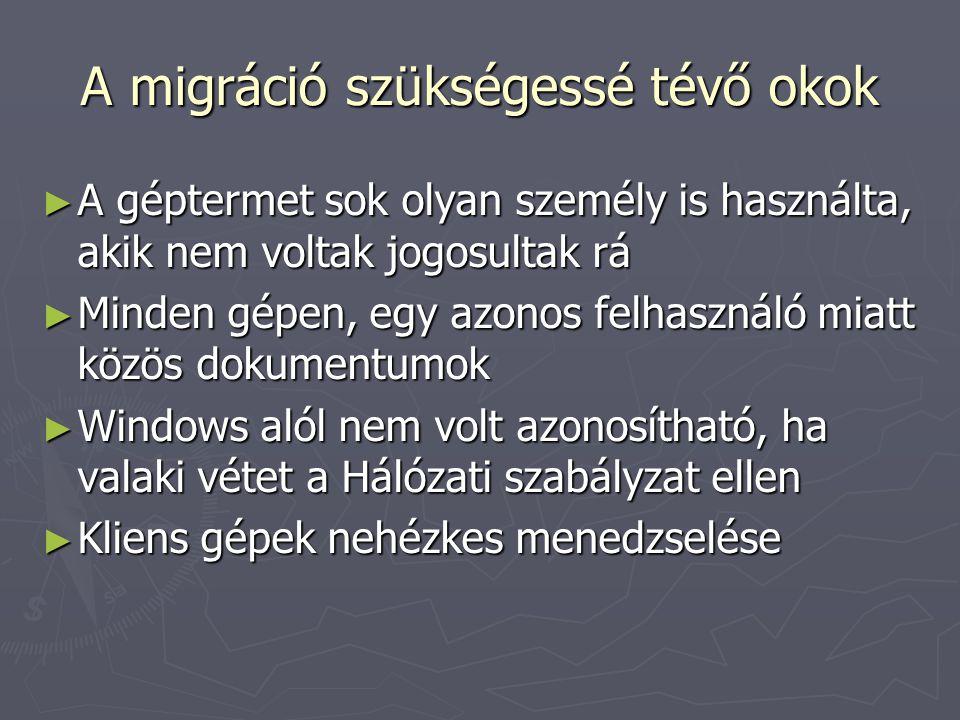 Migráció I.