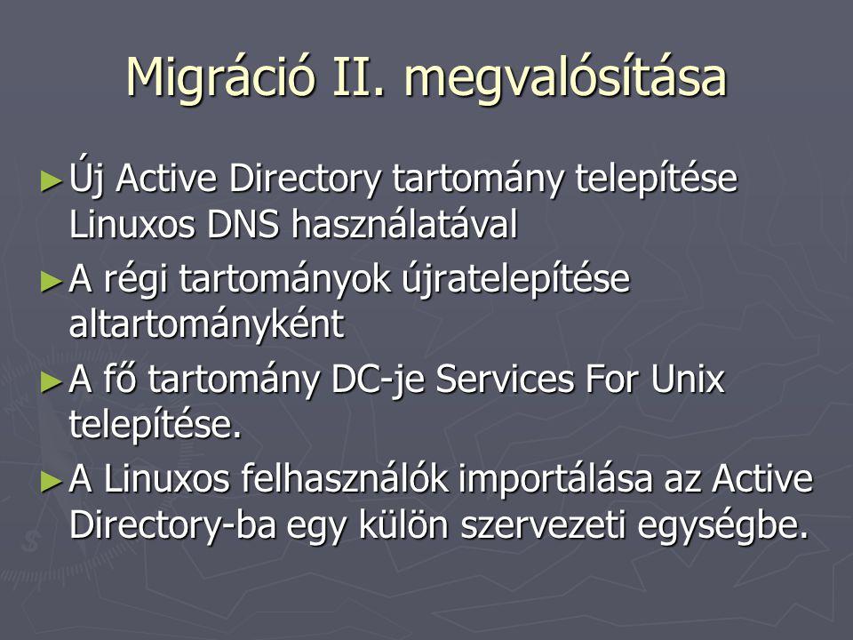 Migráció II.