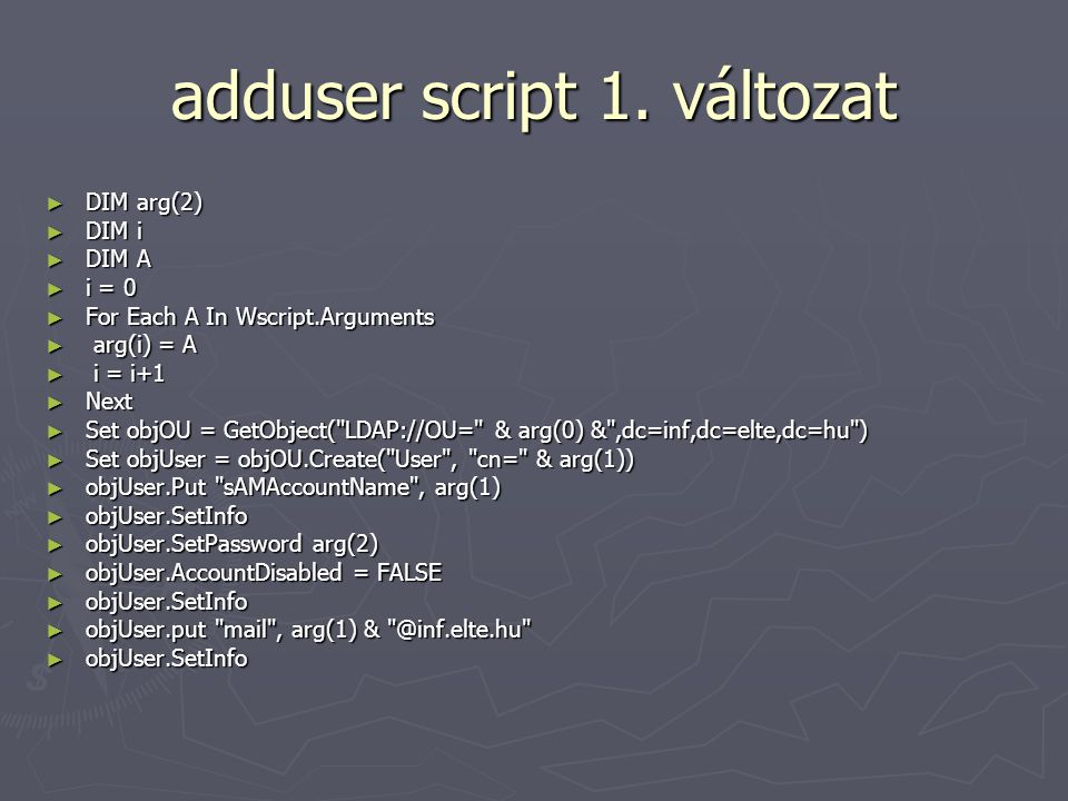 adduser script 1.