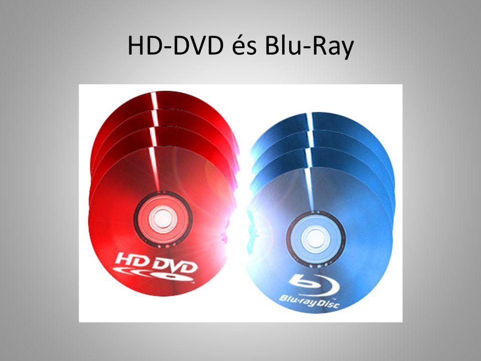 HD-DVD és Blu-Ray