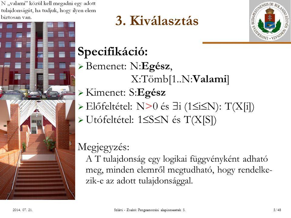 ELTE Szlávi - Zsakó: Programozási alapismeretek 5.5/482014.