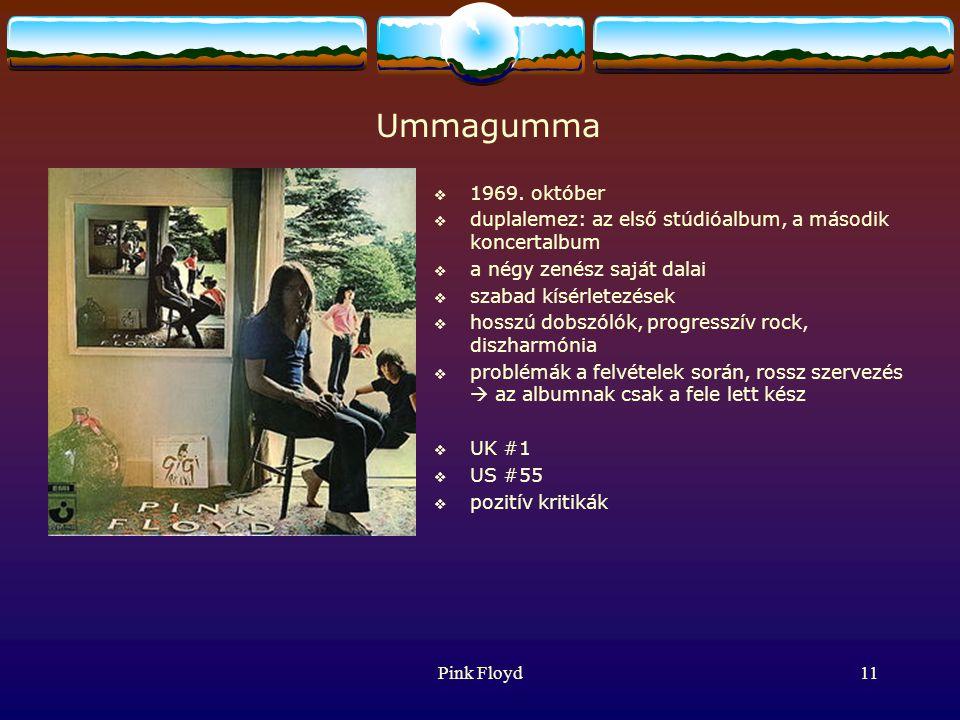 Pink Floyd11 Ummagumma  1969.