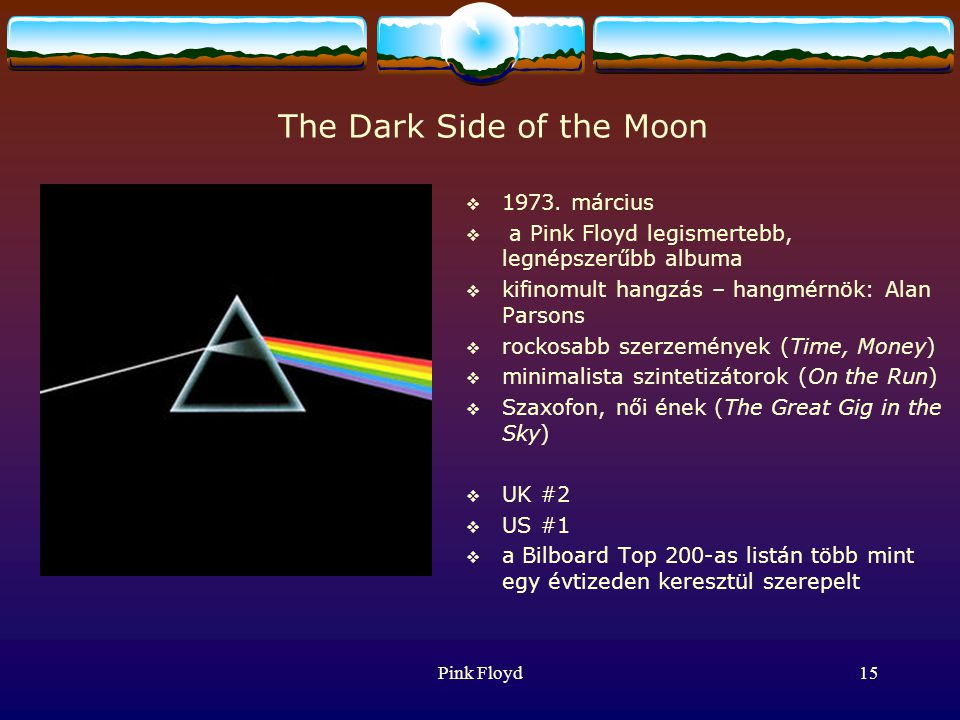 Pink Floyd15 The Dark Side of the Moon  1973.