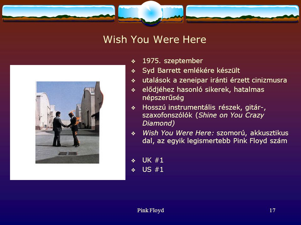 Pink Floyd17 Wish You Were Here  1975.